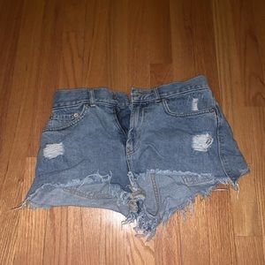 BDG Jean shorts from urban outfitters